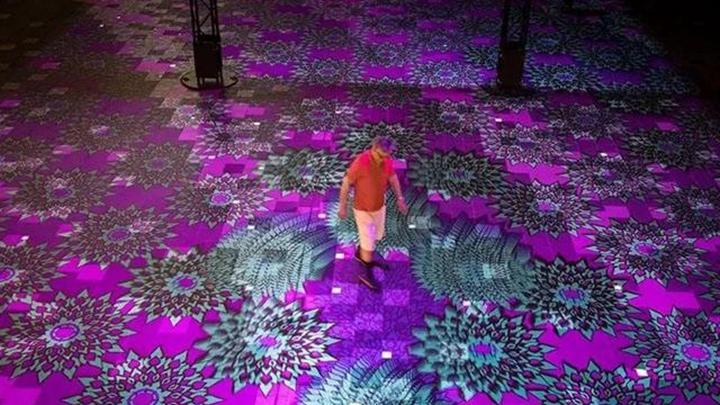 地面互动投影