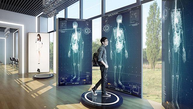 高科技展厅